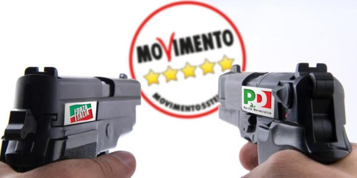 """M5S: """"Colpo mortale alla democrazia. La Santa alleanza vara la legge anti-Movimento: stiamo pensando di mobilitare le piazze"""""""