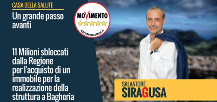 Sanità: Siragusa(M5S), a Bagheria Casa Salute diventa realtà