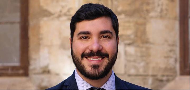 Davide Aiello, candidato alla Camera dei Deputati