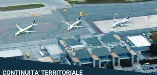 Continuità territoriale: 42 milioni di euro per le partenze da Trapani e Comiso